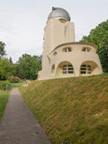 Einstein Turm in Potsdam. POTSDAM, GERMANY - MAY 10, 2014: The Einstein Turm astrophysical observatory was designed by architect Erich Mendelsohn in 1917 for Stock Images