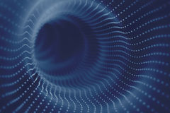 Einstein Wormhole Spacetime Fotografia Stock