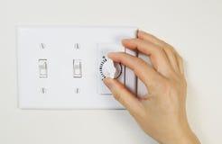 Licht-und Fan-Schalter Für Badezimmer Stockbild - Bild von haus ...