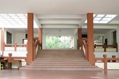 Einstiegstür der Halle Stockbilder