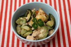 Eintopfgericht der Zucchini Lizenzfreies Stockbild