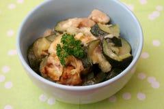 Eintopfgericht der Zucchini Lizenzfreies Stockfoto