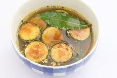 Eintopfgericht der Zucchini Stockfoto