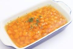 Eintopfgericht von Karotten Lizenzfreies Stockfoto