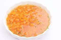Eintopfgericht von Karotten Stockbild
