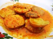 Eintopfgerichte von Archidendron-pauciflorum Stockfotos