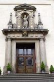 Eintrag in den Kirchehl. Mary O siegreich - Prag lizenzfreie stockbilder