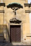 Eintrag in der Kirche stockfotos