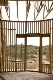Eintrag des neuen Hauses Stockfotografie