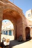 Eintrag zum medina in Essaouira lizenzfreie stockbilder