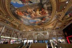 Eintrag zum venetianischen Hotel in Las Vegas stockfotos