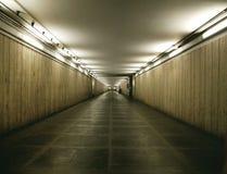 Eintragfaden des Kellerinnenraums im Gebäude Stockbilder
