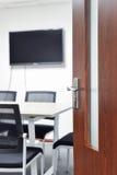 Eintritt zum Konferenzzimmer Lizenzfreies Stockfoto
