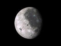 Einwachsen von Mondphase Lizenzfreie Stockfotos
