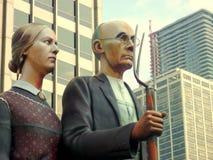 Einwanderndes Denkmal Lizenzfreies Stockbild
