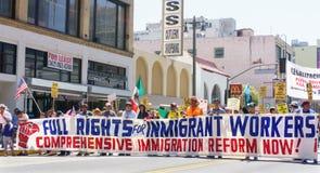 Einwanderungsreform-Sammlung in den Vereinigten Staaten stockfotos