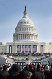 Einweihung am US-Kapitol stockfotos
