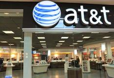 Einzelhandelsgeschäft AT&Ts Lizenzfreies Stockbild