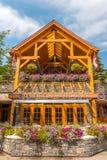 Einzelhandelsgeschäft-Architektur von Banff Lizenzfreies Stockfoto