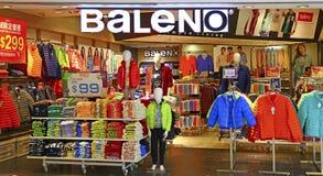Einzelhandelsgeschäft Baleno-Kleidungs Lizenzfreie Stockbilder