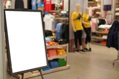 Einzelhandelsgeschäftspeicher der Verkaufszeichenmode Lizenzfreies Stockfoto