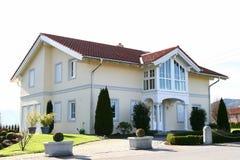 Einzelhaus Stockbild