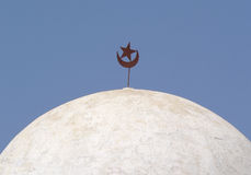Einzelheit einer Moschee Lizenzfreies Stockbild