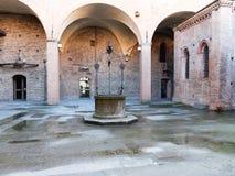 Einzelheit von Piazza Del Nettuno Bologna Italien Stockbild