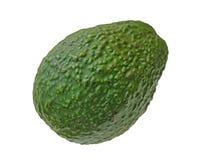 Einzelne Avocado Lizenzfreies Stockfoto