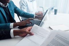 Einzelne Betriebsberatung für Firmen Lizenzfreies Stockbild