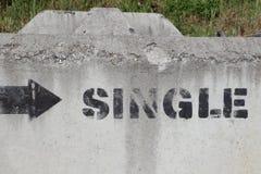 Einzelne Damen? Einzelne Männer? Einzelner Promi-Status? Stockfotografie