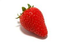 Einzelne Erdbeere Stockbild