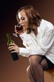 Einzelne Frau show-2 Lizenzfreie Stockfotografie