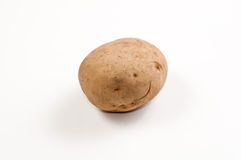 Einzelne Kartoffel Lizenzfreie Stockfotografie