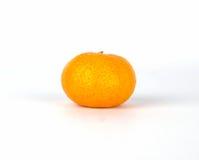 Einzelne Mandarine Lizenzfreie Stockbilder