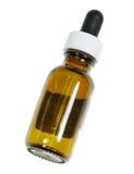 Einzelne Naturopathic Hilfsmittel-Flasche Lizenzfreie Stockfotos