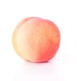 Einzelne Pfirsich-Frucht lizenzfreies stockbild