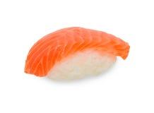 Einzelne Sushi auf Weiß Stockbilder
