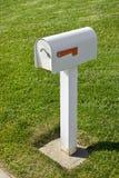 Einzelner Briefkasten Stockfotografie