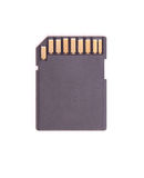 Einzelner Chip. Stockbilder