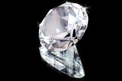 Einzelner Diamant Stockbild