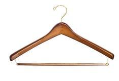 Einzelner leerer Kleiderbügel Lizenzfreies Stockbild