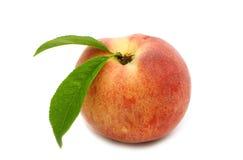 Einzelner Pfirsich Stockbilder
