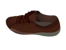 Einzelner Schuh Lizenzfreies Stockfoto
