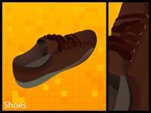 Einzelner Schuh Stockfotografie