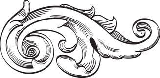 Einzelnes Acanthusblatt Lizenzfreies Stockbild