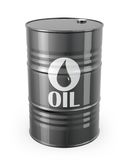 Einzelnes Barrel Erdöl stock abbildung