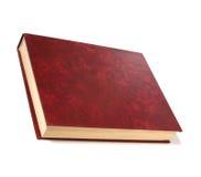 Einzelnes Buch getrennt auf Weiß lizenzfreies stockbild