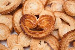 Einzelnes Detail des Kuchens, süß und flockig Stockfoto