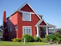 Einzelnes Familienheim Lizenzfreies Stockfoto
